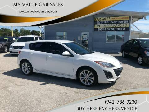 2010 Mazda MAZDA3 for sale at My Value Car Sales - Upcoming Cars in Venice FL