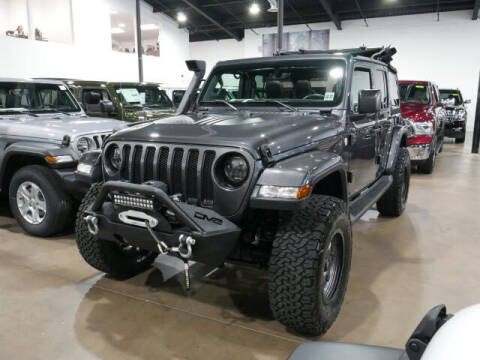 2018 Jeep Wrangler Unlimited for sale at Montclair Motor Car in Montclair NJ