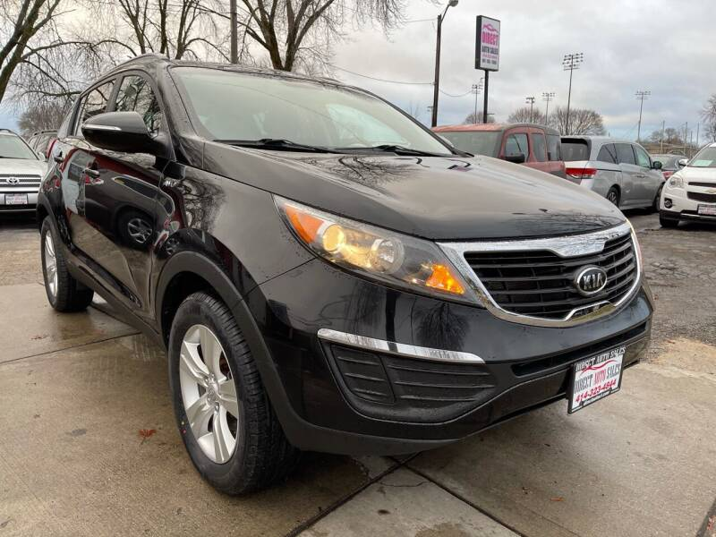 2011 Kia Sportage for sale at Direct Auto Sales in Milwaukee WI
