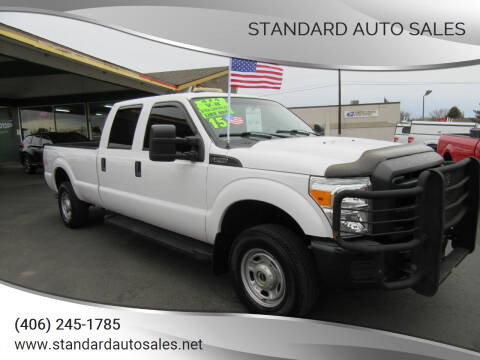 2015 Ford F-250 Super Duty for sale at Standard Auto Sales in Billings MT