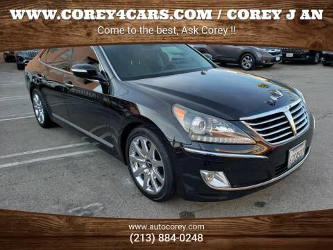 2011 Hyundai Equus for sale at WWW.COREY4CARS.COM / COREY J AN in Los Angeles CA