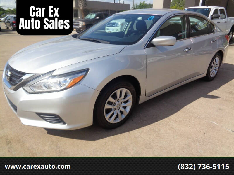 2016 Nissan Altima for sale at Car Ex Auto Sales in Houston TX