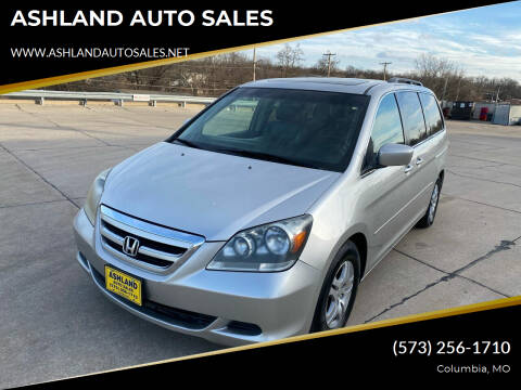 2007 Honda Odyssey for sale at ASHLAND AUTO SALES in Columbia MO