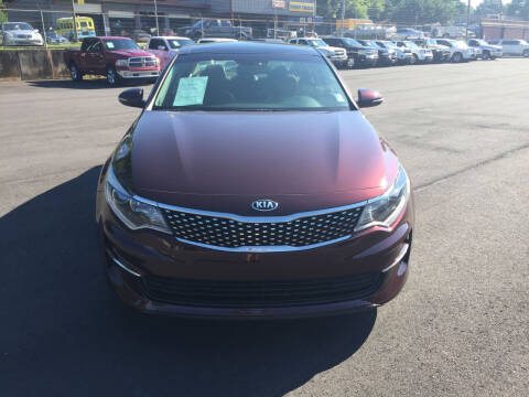 2018 Kia Optima for sale at Beckham's Used Cars in Milledgeville GA