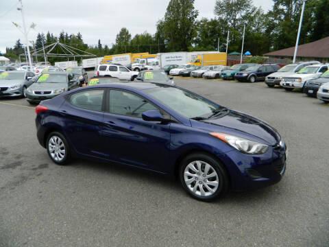 2011 Hyundai Elantra for sale at J & R Motorsports in Lynnwood WA