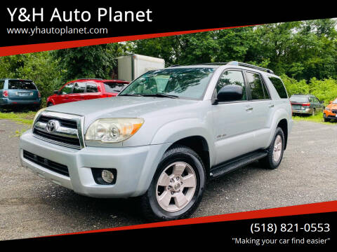 2007 Toyota 4Runner for sale at Y&H Auto Planet in West Sand Lake NY