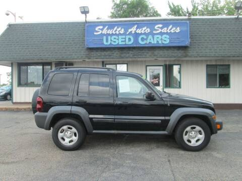 2007 Jeep Liberty for sale at SHULTS AUTO SALES INC. in Crystal Lake IL