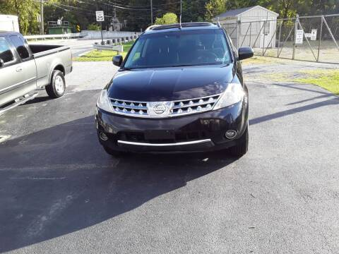 2007 Nissan Murano for sale at Dun Rite Car Sales in Downingtown PA