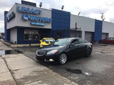 2011 Buick Regal for sale at Legacy Motors in Detroit MI