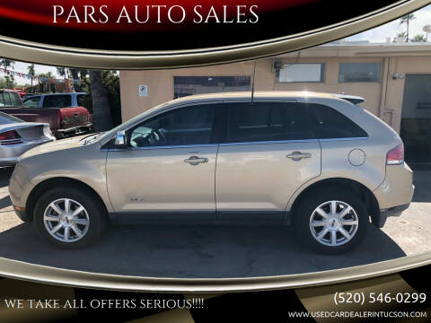 2007 Lincoln MKX for sale at PARS AUTO SALES in Tucson AZ