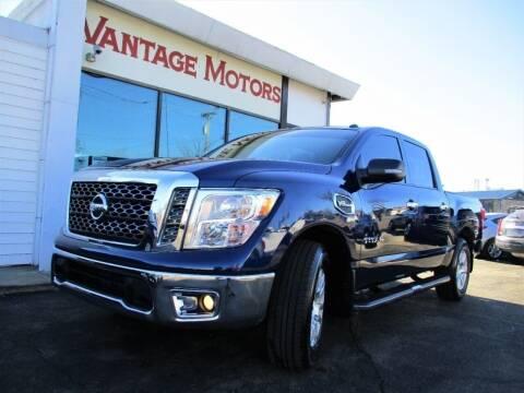2017 Nissan Titan for sale at Vantage Motors LLC in Raytown MO