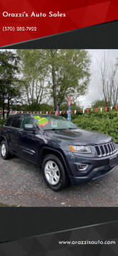 2014 Jeep Grand Cherokee L for sale at Orazzi's Auto Sales in Greenfield Township PA
