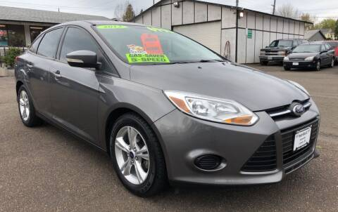 2013 Ford Focus for sale at Freeborn Motors in Lafayette, OR