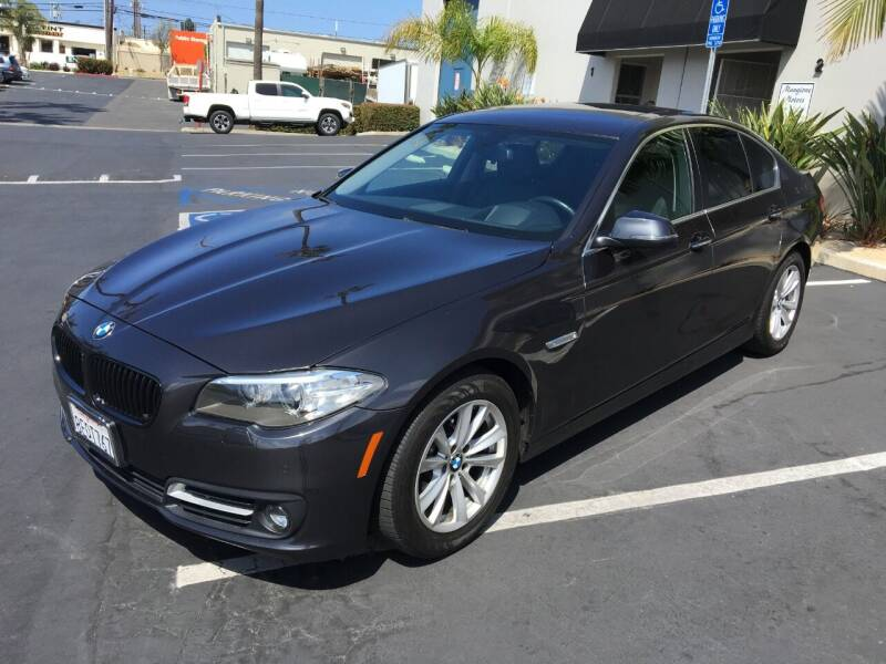 2016 BMW 5 Series for sale at MANGIONE MOTORS ORANGE COUNTY in Costa Mesa CA