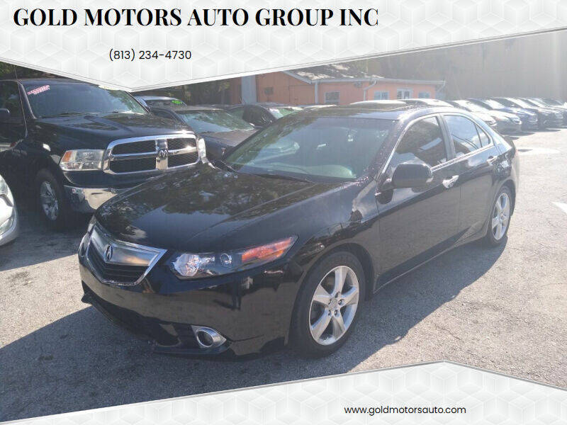 2014 Acura TSX for sale at Gold Motors Auto Group Inc in Tampa FL