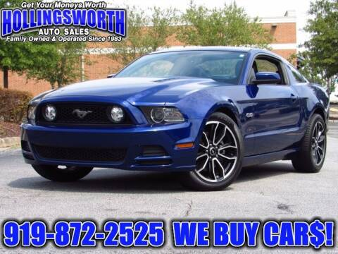 2014 Ford Mustang for sale at Hollingsworth Auto Sales in Raleigh NC