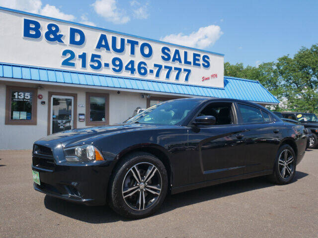 2014 Dodge Charger for sale at B & D Auto Sales Inc. in Fairless Hills PA