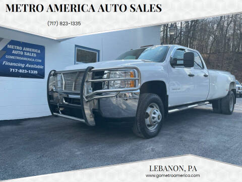 2013 Chevrolet Silverado 3500HD for sale at METRO AMERICA AUTO SALES of Lebanon in Lebanon PA