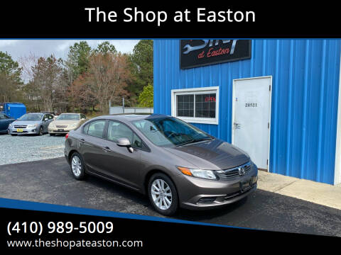 2012 Honda Civic for sale at The Shop at Easton in Easton MD