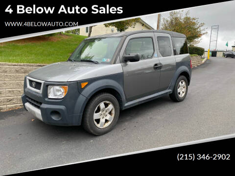 2005 Honda Element for sale at 4 Below Auto Sales in Willow Grove PA