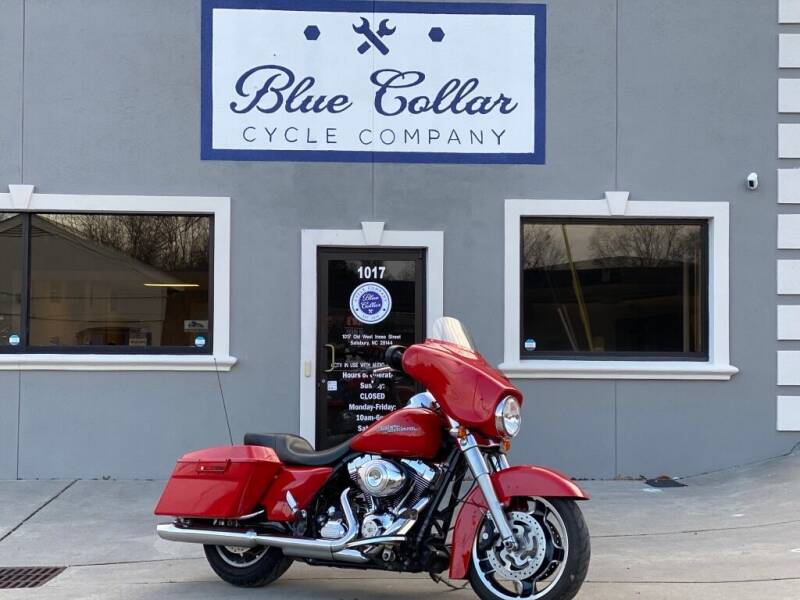 2011 Harley-Davidson Street Glide FLHX-103 for sale at Blue Collar Cycle Company in Salisbury NC