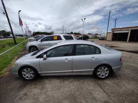 2009 Honda Civic for sale at BIG 7 USED CARS INC in League City TX