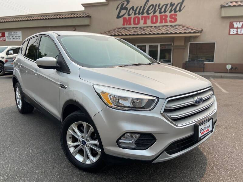 2019 Ford Escape for sale at Boulevard Motors in St George UT