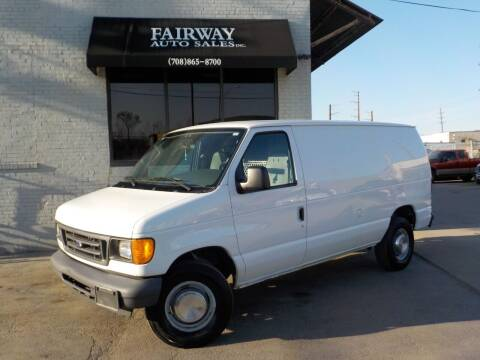 2006 Ford E-Series Cargo for sale at FAIRWAY AUTO SALES, INC. in Melrose Park IL