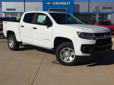 2021 Chevrolet Colorado for sale at Vance Fleet Services in Guthrie OK
