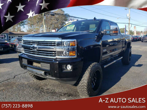 2015 Chevrolet Silverado 3500HD for sale at A-Z Auto Sales in Newport News VA
