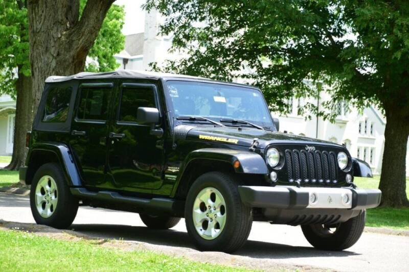 2014 Jeep Wrangler Unlimited for sale at Digital Auto in Lexington KY