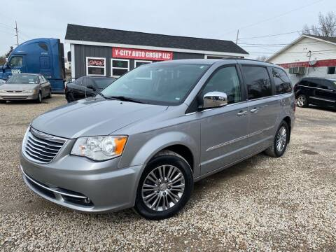 2014 Chrysler Town and Country for sale at Y City Auto Group in Zanesville OH