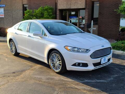 2014 Ford Fusion for sale at Mighty Motors in Adrian MI