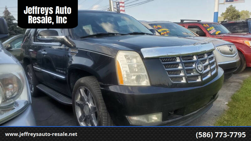 2008 Cadillac Escalade for sale at Jeffreys Auto Resale, Inc in Clinton Township MI