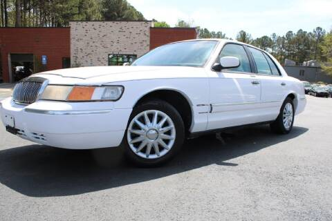1999 Mercury Grand Marquis for sale at Atlanta Unique Auto Sales in Norcross GA
