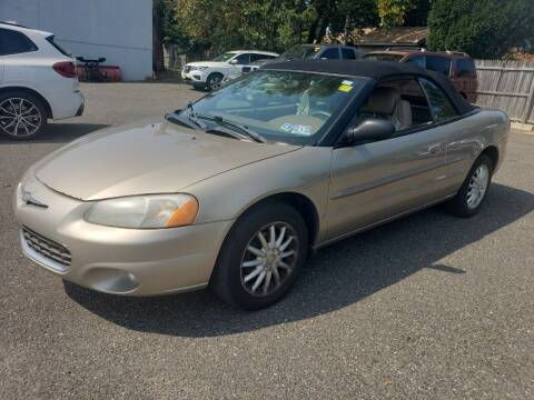 2003 Chrysler Sebring for sale at CRS 1 LLC in Lakewood NJ