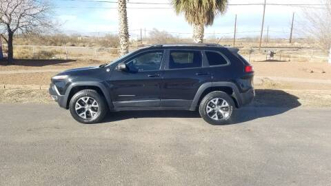 2014 Jeep Cherokee for sale at Ryan Richardson Motor Company in Alamogordo NM