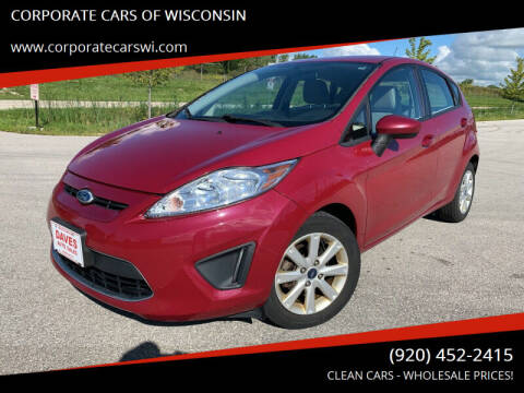 2011 Ford Fiesta for sale at CORPORATE CARS OF WISCONSIN - DAVES AUTO SALES OF SHEBOYGAN in Sheboygan WI