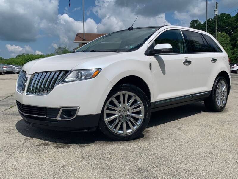 2014 Lincoln MKX for sale at Elite Motors in Uniontown PA
