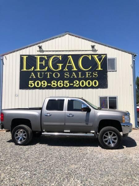 2013 Chevrolet Silverado 1500 for sale at Legacy Auto Sales in Toppenish WA
