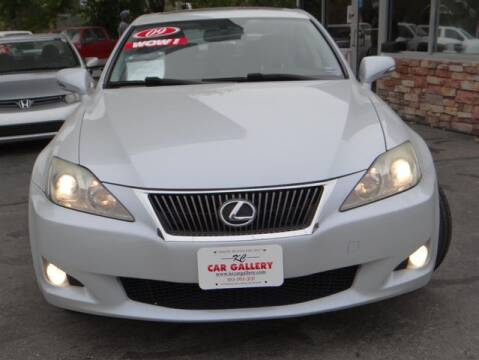 2009 Lexus IS 250 for sale at KC Car Gallery in Kansas City KS