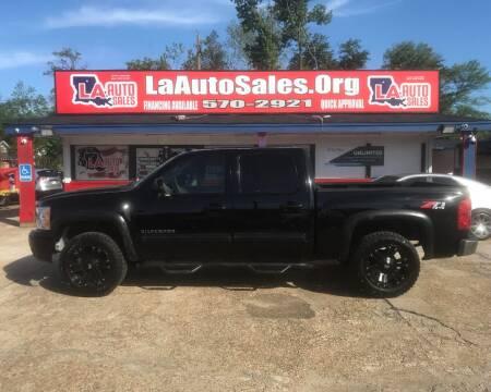 2012 Chevrolet Silverado 1500 for sale at LA Auto Sales in Monroe LA