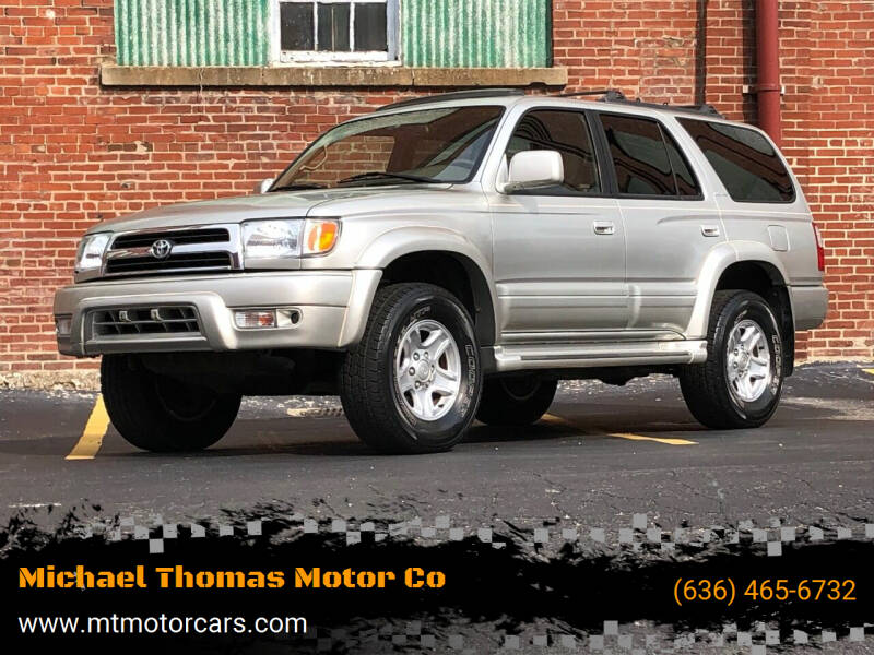 1999 Toyota 4Runner for sale at Michael Thomas Motor Co in Saint Charles MO
