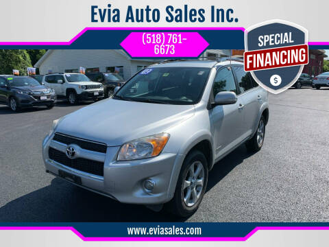 2012 Toyota RAV4 for sale at Evia Auto Sales Inc. in Glens Falls NY