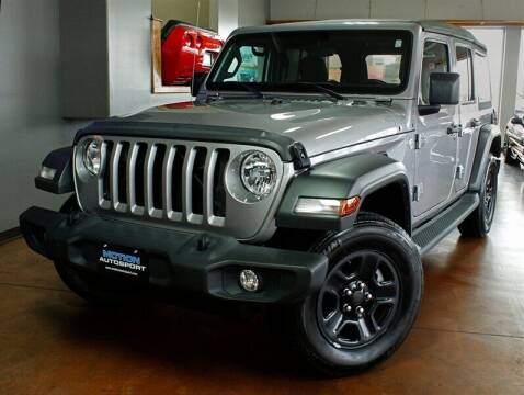 2018 Jeep Wrangler Unlimited for sale at Motion Auto Sport in North Canton OH