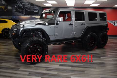 2017 Jeep Wrangler Unlimited for sale at Icon Exotics in Houston TX