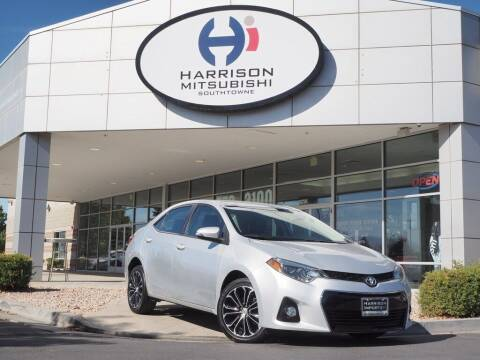 2016 Toyota Corolla for sale at Harrison Imports in Sandy UT