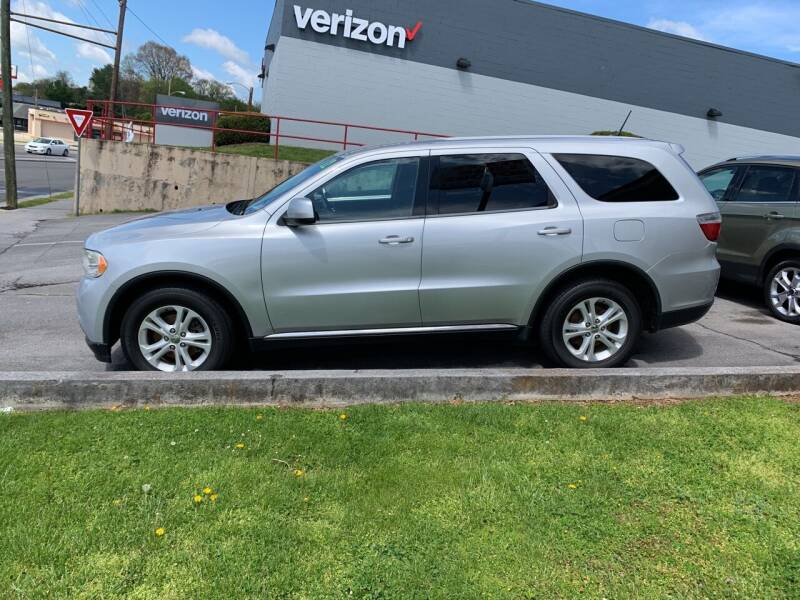 2012 Dodge Durango for sale at State Line Motors in Bristol VA