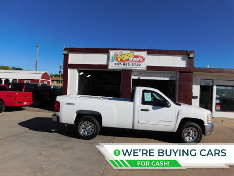 2013 Chevrolet Silverado 1500 for sale at Pork Chops Truck and Auto in Cheyenne WY