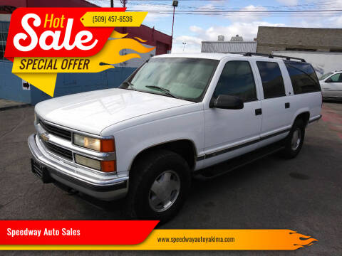1999 Chevrolet Suburban for sale at Speedway Auto Sales in Yakima WA